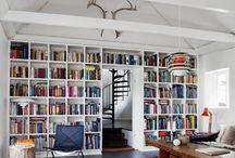 Books & Bookshelves / by Melanie V.