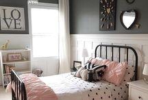 Girls' Bedroom Design / Inspiration for a girl's bedroom.