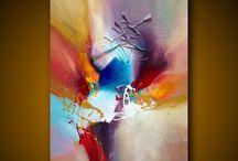 Peintures abstraite