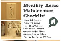 Home Maintenance Checklist / They say a stitch in time, saves nine. Well many of the issues we run into with structures could have been avoided if the proper maintenance steps were taken before the issue grew into an emergency.