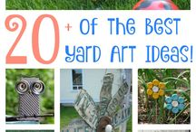 Yard and Garden Decor / Need help decorating your yard? Here are great garden decoration ideas and DIY projects.