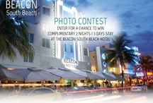 Beacon Sweepstakes & Giveaways / Every month the Beacon Hotel makes contests where give free 2 night stay at our hotel, check our wall often to participate. / by Beacon Hotel South Beach