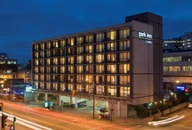 Vancouver, BC, Canada / Within walking distance of Granville Island and the Broadway City Hall Skytrain Station, the Park Inn Hotel & Suites on Broadway allows guests to stay in proximity of all of Vancouver's most famous attractions and terminals.   / by Park Inn by Radisson