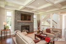Fine Custom Homes / Custom homes designed by Jim Bell Architectural Design Inc.