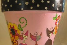 cat paint