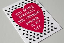 Valentine's Cards / Sarky/awesome cards that I found on my etsy forages!