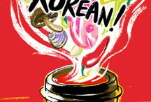 Cook Korean! / Robin Ha's first cookbook 'Cook Korean!: A Comic Book With Recipes' is a charming introduction to the basics of Korean cooking in graphic novel form, with 64 recipes, ingredient profiles, and more, presented through light-hearted comics. Published by Ten Speed Press, an imprint of Penguin Random House. Jul 05, 2016 | 176 Pages | 7 x 10 | ISBN 9781607748878 Korean Food, Food Illustration, Korean Recipes
