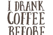 COFFEE / Anything coffee related