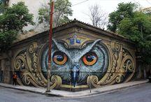 ΖΩΓΡΑΦΟΙ του ΔΡΟΜΟΥ..... / graffiti..... street art .....τρισδιάστατες ζωγραφιές στο δρόμο....