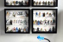 Action figure display