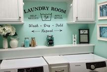 Laundry Room Ideas / Laundry room decor