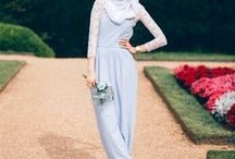 Dress Up with Fashion / Hijab, dress, casual wear, scarf, street style, every pastel and soft colors.. ^0~