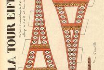 Tour Eiffel / Bronzette HEARTS