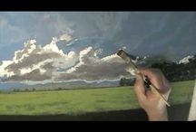 instruktážní VIDEA -MALOVÁNÍ (obloha,moře, abstrakt.painting......