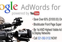 Video Ads / Google AdWords for Video hosted on YouTube. Local Business 15 & 30 Sec. Commercials. Pan & Scan or Full Motion Video with 60% OFF Production Costs from GYB Marketing Inc.