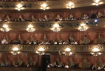 Places I love. / Inside the Teatro Colon, Buenos Aires, Argentina