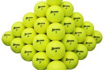 Yellows! / Yellow golf balls