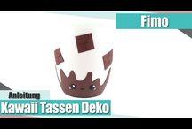 Fimo Tassen/Gläser