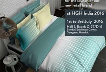 Boutique Living Launch at HGH India = Day #! / Boutique Living, as the name suggests, is an aspirational brand launched by Indo Count Retail Ventures P. Ltd. to showcase its refined quality bed linen offerings. With robust R&D, technical know-how and in-house production, the brand offers the Indian consumer superior quality products ranging from 300 TC – 1000 TC.  With this board, we take you through the first day of our launch at HGH India 2016.
