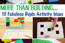 Lego Duplo Ideas / Ideas on how to use Lego Duplo Bricks for learning and fun