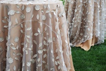 LINENS, OVERLAYS, NAPKINS / by Rachel's Events in Mind