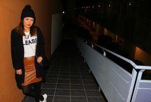 Falda tubo / Oh!, la la!, ya tenemos nuevo #lookpropuesta en el blog, una forma cómoda de combinar una falda efecto piel http://www.laprincesarosa.com/entradas/piel-sobre-piel.html #lookpropuesta #blogger #bloggermoment