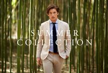 Summer Collection / 2015 / Catch some rays this season with loose, breathable weaves and bright patterns: http://www.ledbury.com/shop/short-run