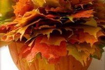 Herfst / Leuke dingen voor de herfst. Knutselen, decoratie, etc.