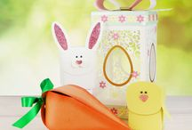Cutting Craftorium - Easter / Create stunning 3D Easter projects with this Cutting Craftorium Easter Edition USB including bunnies, daffodils, chicks, eggs, bunting, baskets, spring flowers and so much more!