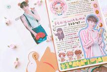 K-pop journal ideas