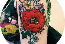 Inky ink / Tattos  / by Tiffany Ellingson