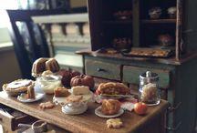 Miniature table setting