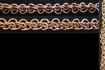 Maille weaves and chain weaves