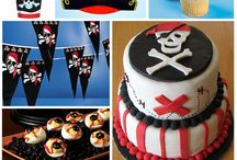 pirate birthday ideas / ideas for Marcelos bday bash