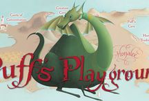 Puff, the Magic Dragon's Playground / One of the most beloved and treasured songs of all time, Puff, the Magic Dragon, and his home in the land called Honalee, have been transformed into the playful and creative Puff's Playground app. Enjoy engaging and fun family entertainment that will also inspire creativity in children. - For #iOS. #Android, #Kindle, #Nook & #Tabeo. Ages 4+ -  http://fatredcouch.com/Puff,_the_Magic_Dragons_Playground