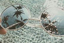 Inspo: Boho Sunglasses / Want to relive the Bohemian style of yesteryear?  Look no further than a few of these frames to set off your look.