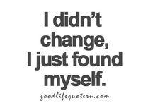 Myself & my life