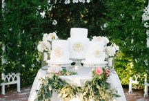"We love these wedding ceremony setups, wowee! / Everything for the ""I do's"":"