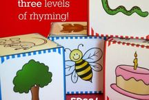 Rhyming for Early Learners / A collection of rhyming games and activities for young children.
