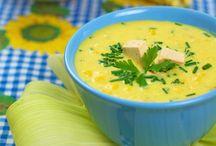 Laktózmentes levesek / Levesek fontos részét képezik az étkezésnek. Néhány kedvcsináló fotó.