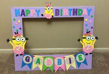 Zoey's third birthday