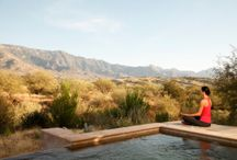 Yoga Retreats / Relax in a quiet, serve environment while you do yoga.