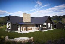 Black house design ideas
