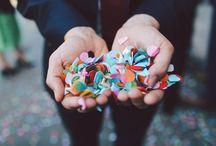 #Confetti #celebrations / No #confetti at a #wedding, no way