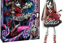 Doll - MONSTER HIGH Sweet Screams Frankie Stein