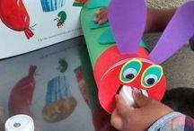 Craft for kids-il piccolo bruco maisazio