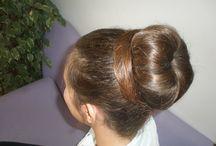 Hair Buns by Thalassinos Coiffure  / hair bun