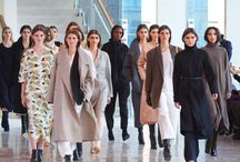 AW1415 Women's Collection / Lemaire Autumn-Winter 2014-15 Women's presentation at La Maison de la Radio, Paris