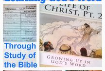 Bible - Life of Christ / Curriculum, crafts, activities for the study of the life of Christ