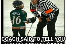 Funny hockey
